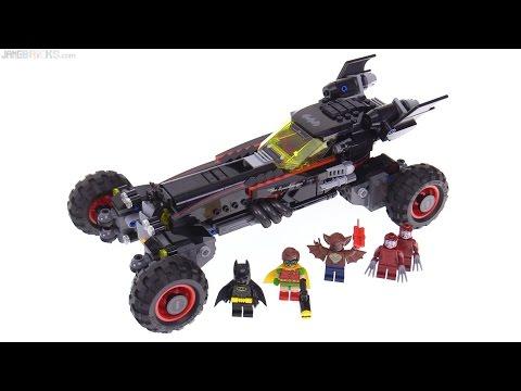 LEGO Batman Movie Batmobile review! 70905