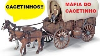 A Aventura Épica Da Carroça Da Máfia Do Cacetinho (super Amazing Wagon Adventure)