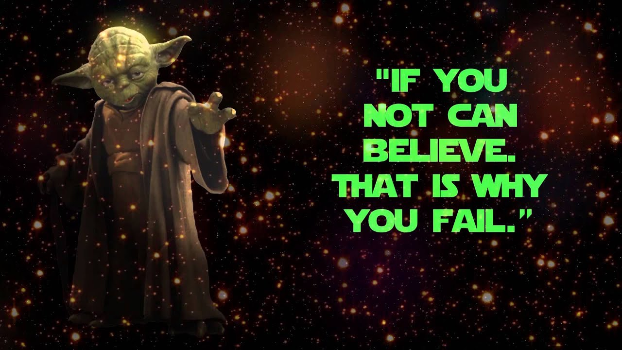 Quotes Yoda Yoda 10 Best Quotes From Daily Quotes  Youtube