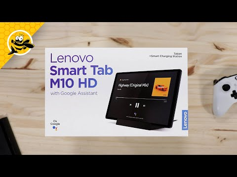 Lenovo Smart Tab M10 HD with Google Assistant (2nd Gen) - Unboxing and First Impressions!