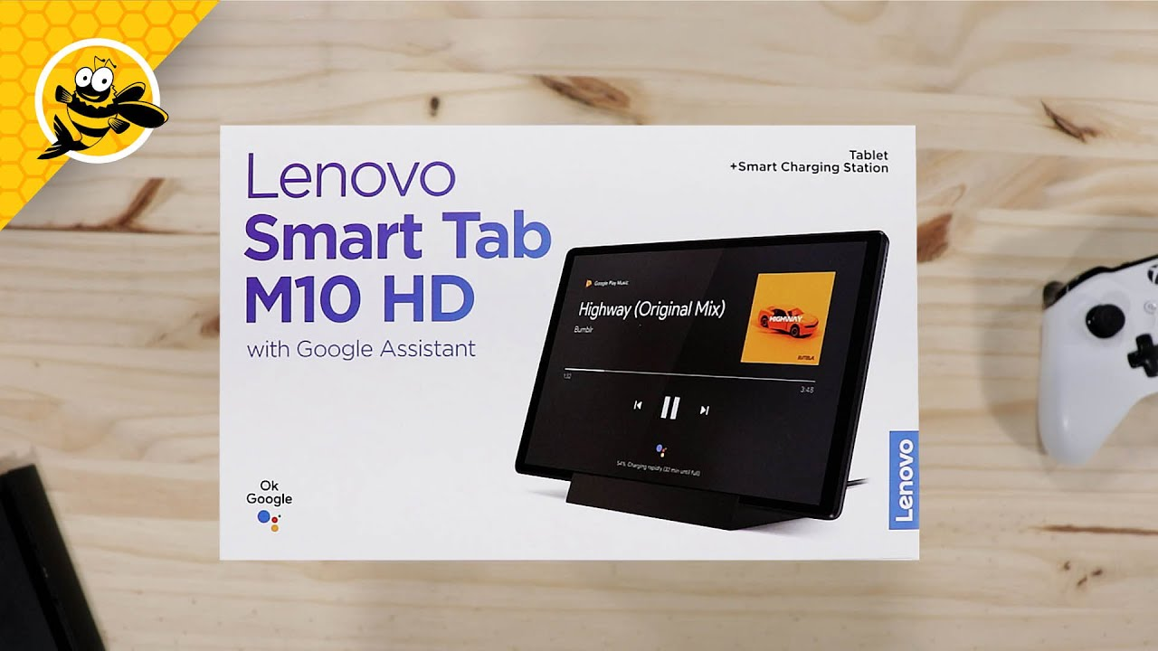 Lenovo Smart Tab M10 HD with Google Assistant (2nd Gen) – Unboxing and First Impressions!