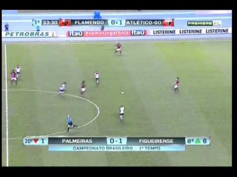 Flamengo 3 x 2 Atlético-GO - Campeonato Brasileiro Série A 2012 - 01/07/2012 - Jogo Completo