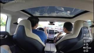 20161105 TESLA MODEL S 75D 北投試駕