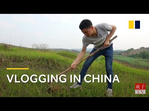 Vlogging changes rural Chinese man's fortunes