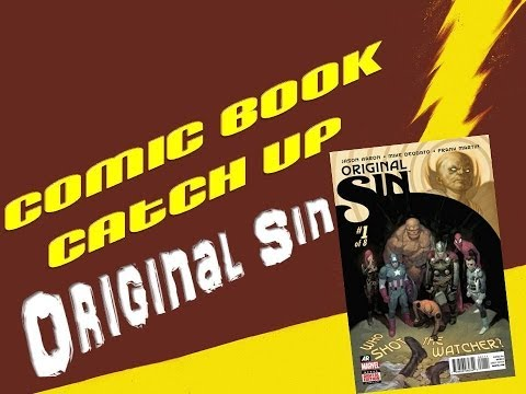 Comic Book Catch Up - Original Sin #0-5, Hulk vs. Iron Man #1 & Nova #18