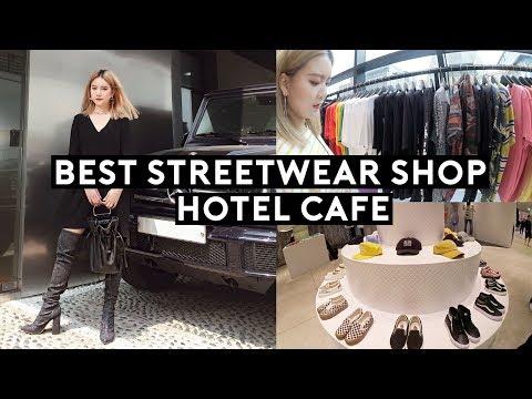 Must Vist Streetwear Select Shop!!!!🔥Hongdae Hotel Cafe, Events   DTV #104