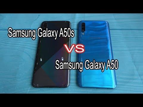 Samsung Galaxy A50s Vs Samsung Galaxy A50   SpeedTest And Camera Comparison