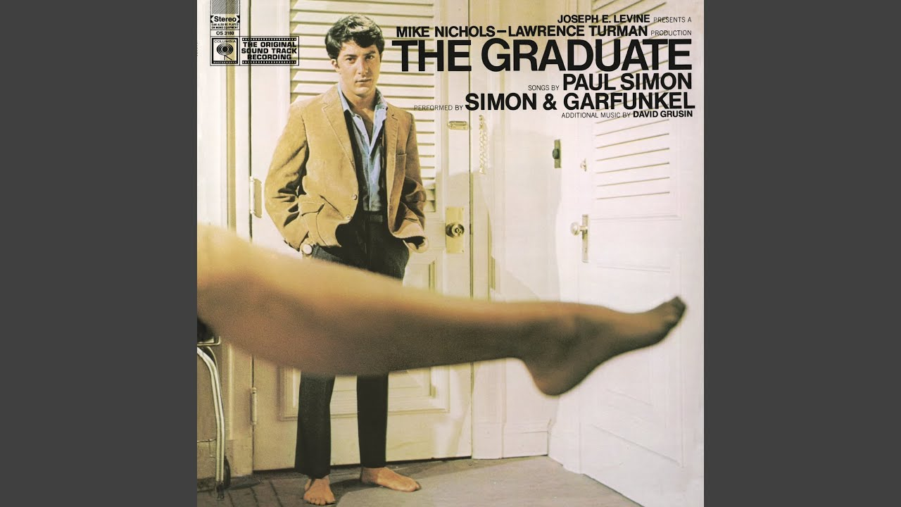 """movie soundtracks, Firstly, the """"Sound of Silence"""" by Simone and Garfunkel from The Graduate (1968)"""