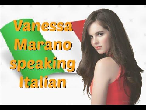 Vanessa Marano speaking Italian!
