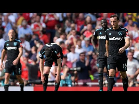 """Arsenal 4-1 West Ham """"We can't keep Moyes!"""" 