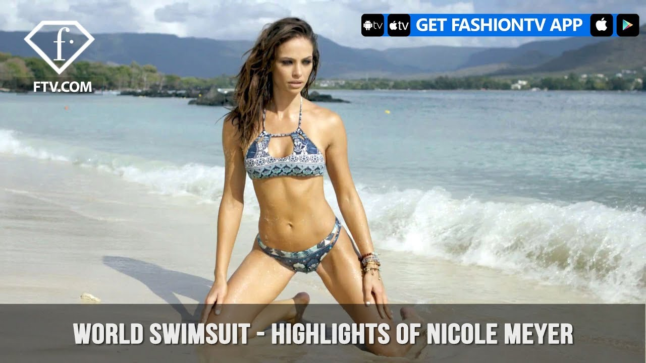 53274c1f6d World Swimsuit Presents Highlights of Hot Bod Nicole Meyer ...