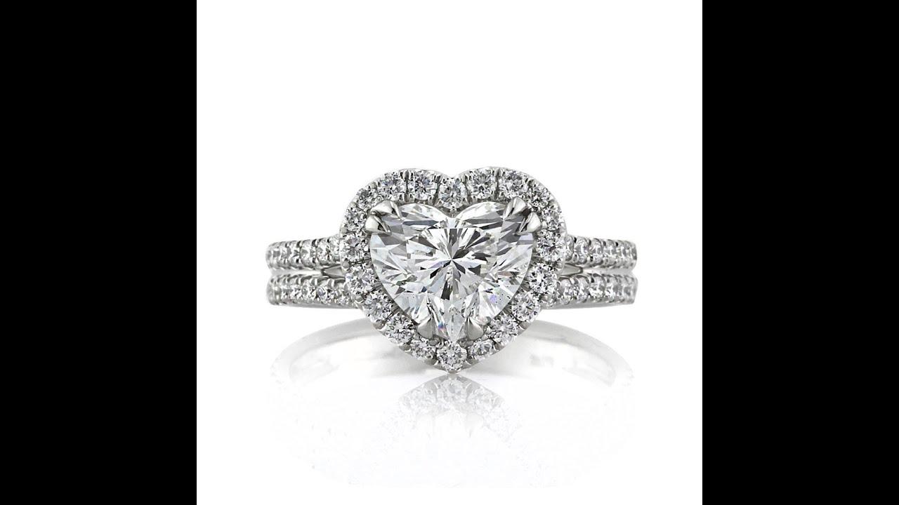 Mark Broumand  267ct Heart Shaped Diamond Engagement Ring