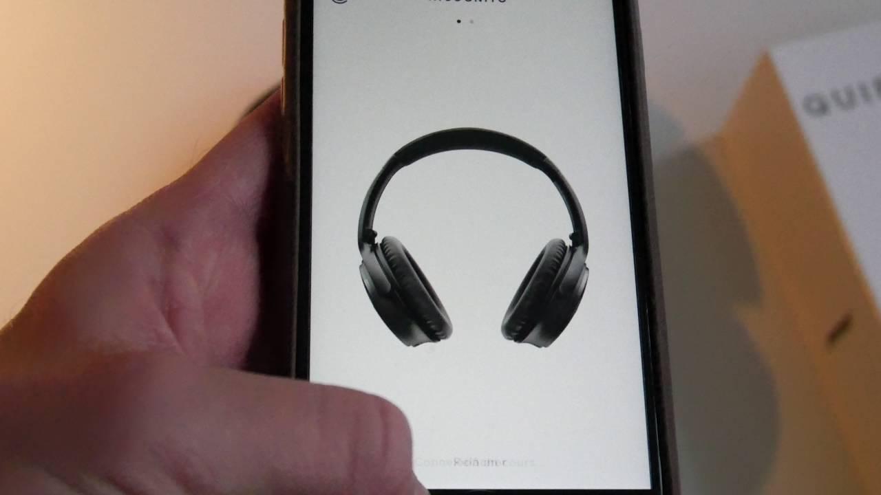 Connecter Un Casque Bose Bluetooth à Son Iphone Bose Connect Youtube