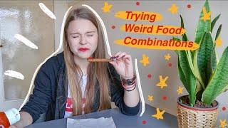 Δοκιμάζω Περίεργους Συνδυασμούς Φαγητών