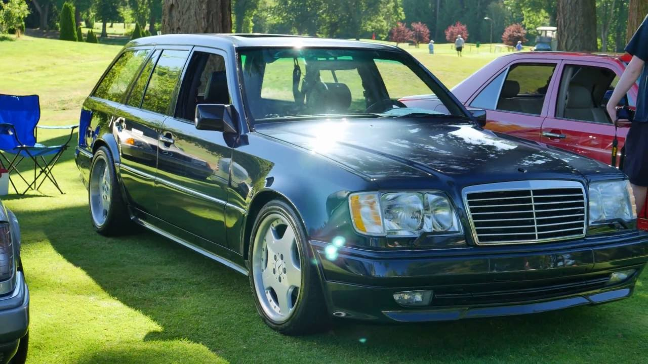 Mercedes Benz Car Club, Seattle Chapter Car Show August