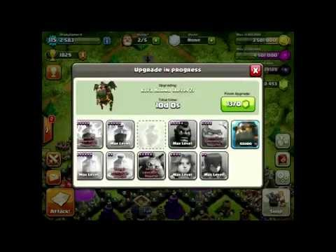 Clash of Clans - [350000 GEMS SPENT] Massive Gemming Spree (WORTH $2500)