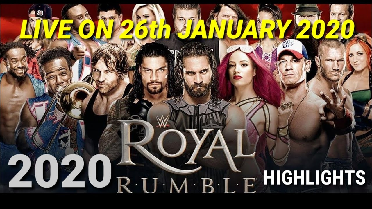 Download WWE Royal rumble full match highlights (preview) 04/01/2020 HD   Raw   samckdown live   30 man match