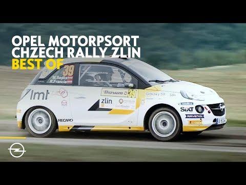 Opel Motorsport Worldwide   Best of Czech Rally Zlin 2018