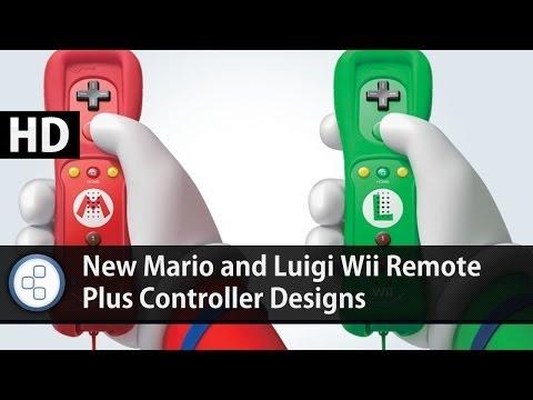 News: New Mario And Luigi Wii Remote Plus Controller Designs