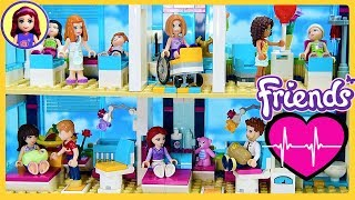 CUSTOM Heartlake Hospital Renovation Lego Friends Build DIY Kids Toys
