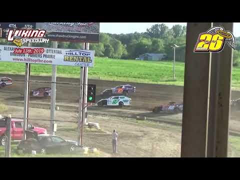 Viking Speedway WISSOTA MW Modified Heats (7/13/19)