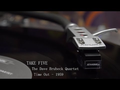The Dave Brubeck Quartet  TAKE FIVE vinyl