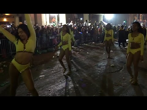 Marching Bands of The Bacchus Parade - 2018 Mardi Gras