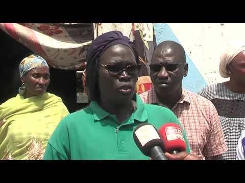 Zahra Iyane Thiam ministre de la micro finance au chevet des femmes de l'Ile Diogué en Casamance