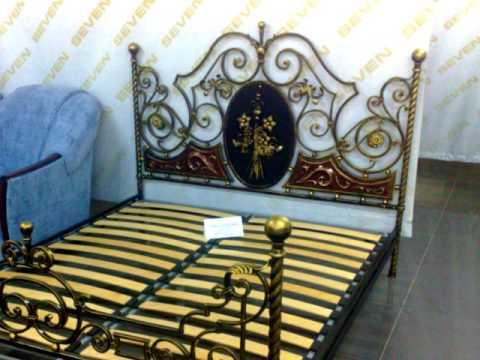 Красивая кованая кровать купить в Днепропетровске Днепре, цены