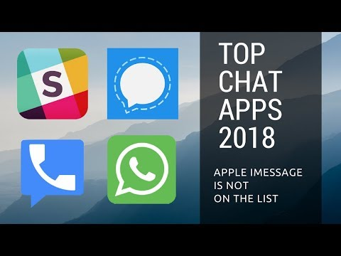 The Best Chat Apps 2018