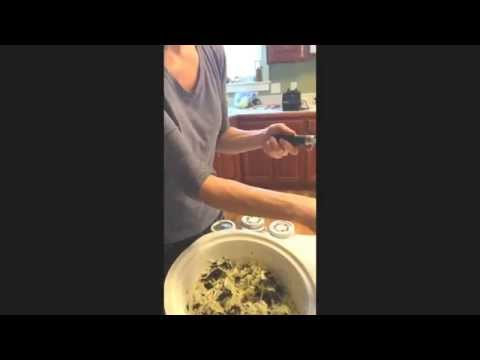 How to make Purple Kale Sauerkraut - Rooted in Health Nutrition