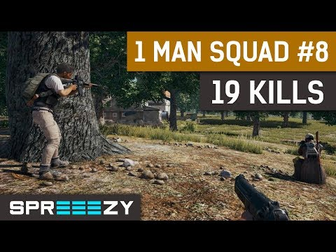 PUBG FPP 1 Man Squad Game #8 | 19 Kills | Insane Severny Start, 2553 Damage