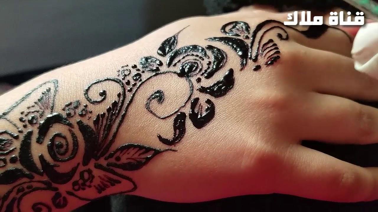 النقش بالحناء على اليدين النقش اليمني للبنات Youtube Hand Tattoos Henna Hand Tattoo Hand Henna