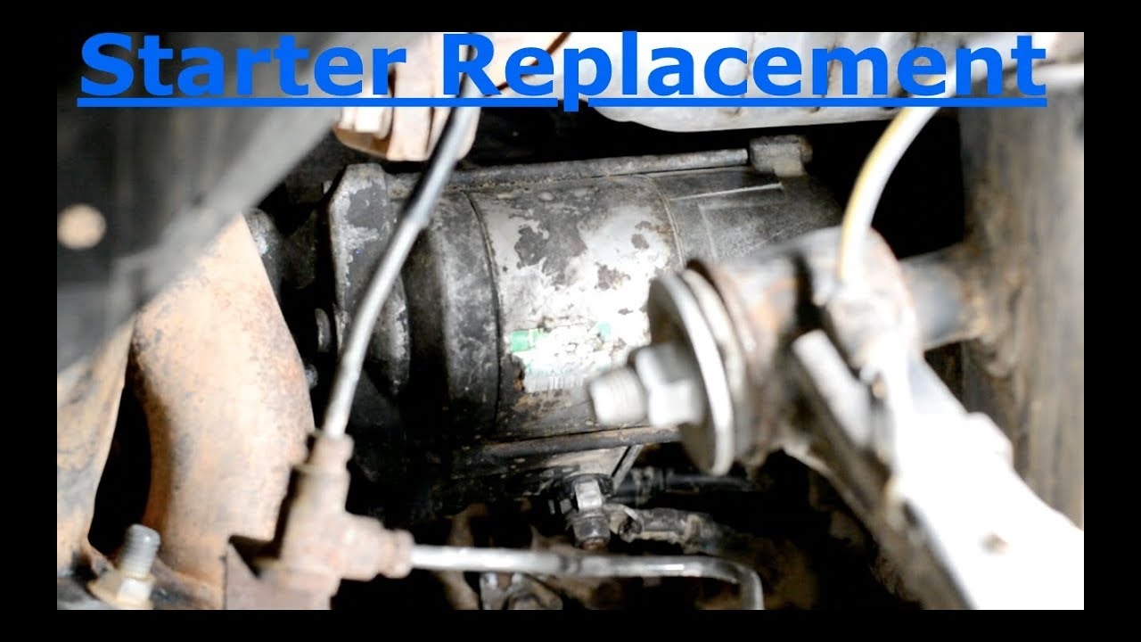 2017 Toyota 4runner >> Starter Replacement- 3rd Gen 4Runner - YouTube
