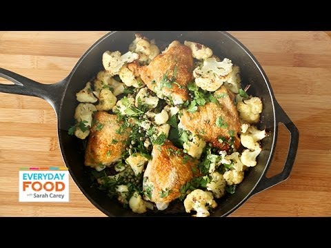 Chicken With Cauliflower And Parsley Everyday Food With Sarah