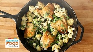 Chicken With Cauliflower And Parsley - Everyday Food With Sarah Carey