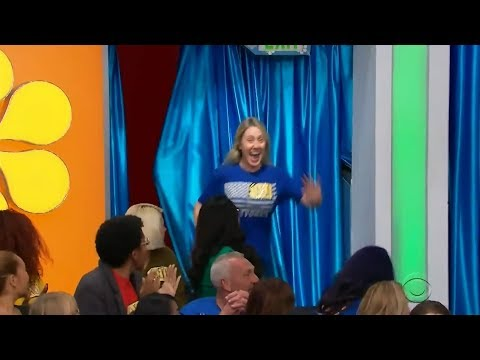 Kristina Kage - Price is Right Contestant Was In Bathroom When Name Was Called