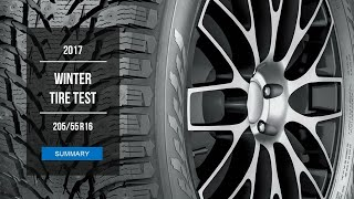 2017 Winter Tire Test Results | 20555/R16 (Studded)