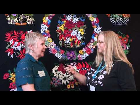 Australasian Quilt Convention - Interview with Merelyn Pearce
