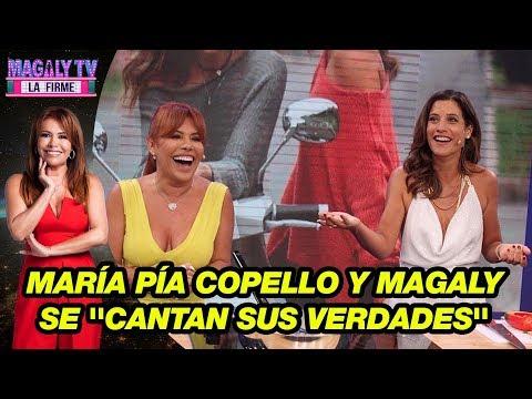 María Pía Copello y Magaly Medina se ''cantan sus verdades'' en duelo de rap