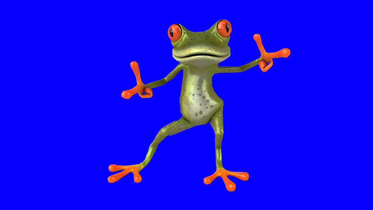 Гиф лягушка танцует