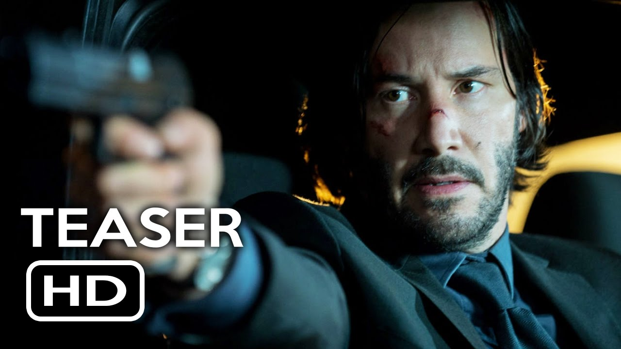John Wick Chapter 2 Trailer Teaser 2017 Keanu Reeves Action Movie