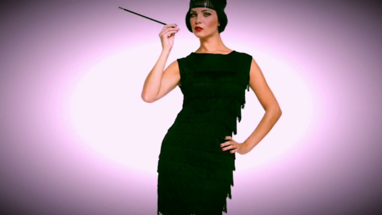 Flapper Hair Style: 1920's Gatsby Flapper Style Dresses, Headpieces And