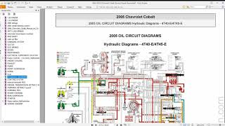 chevrolet cobalt 2005-2010 offline service repair manual + wiring diagram -  get free  auto service repair manuals and wiring diagrams