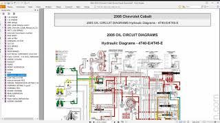 Chevrolet Cobalt 2005 2010 Offline Service Repair Manual Wiring Diagram Get Free