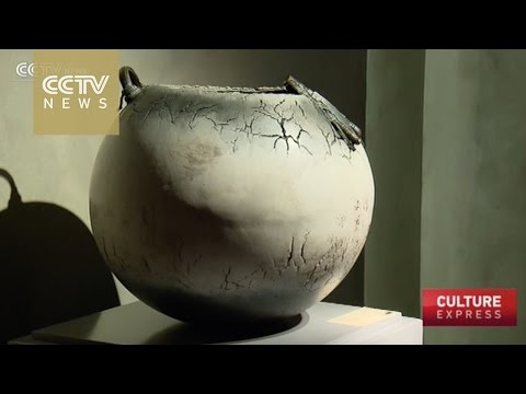 Chinese porcelain inspired works on display in Shanghai
