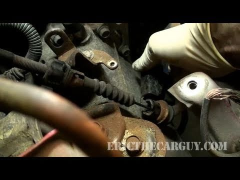 How To Adjust A Cable Operated Clutch, Honda - EricTheCarGuy