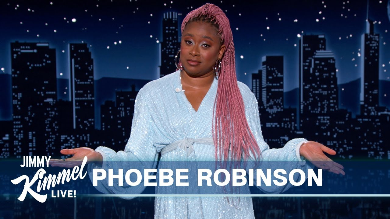 Download Phoebe Robinson's Guest Host Monologue on Jimmy Kimmel Live