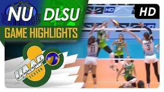 UAAP 80 WV: NU vs. DLSU | Game Highlights | March 10, 2018