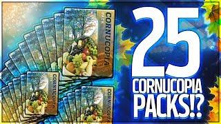 WORLD'S LARGEST CORNUCOPIA OPENING! 25 PACKS! $500 OPENING!? CRAZY 91 OVR PULLS! MADDEN MOBILE 18